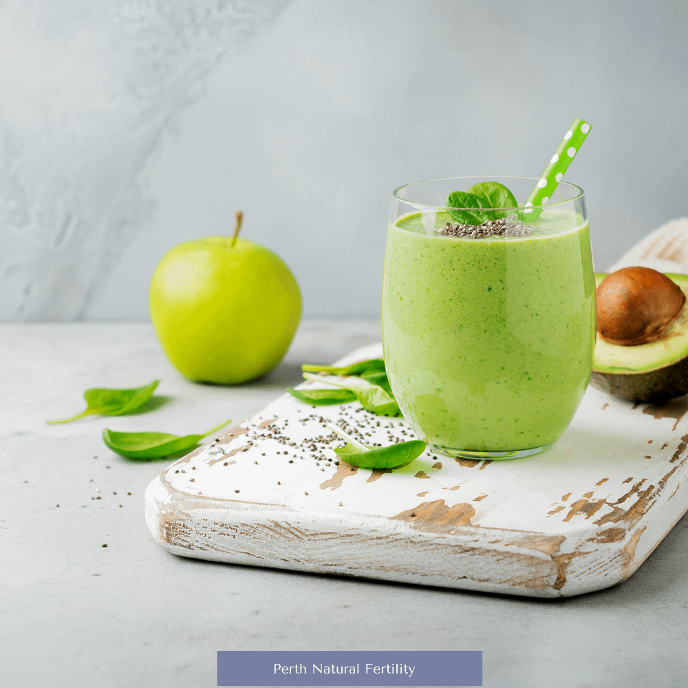 Photo of a green smoothie matching the recipe